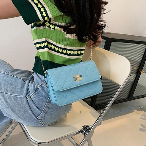 Korean Style All Match Small Square One Shoulder Messenger Bag (1001030)