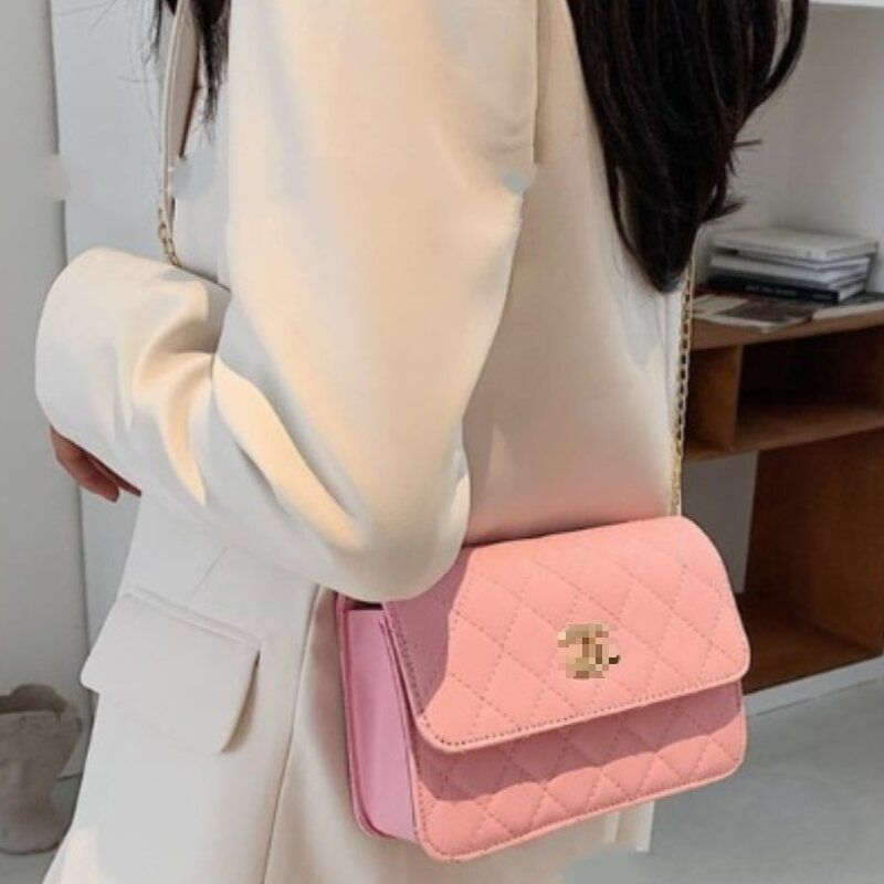 Korean Style All Match Small Square One Shoulder Messenger Bag (1001033)
