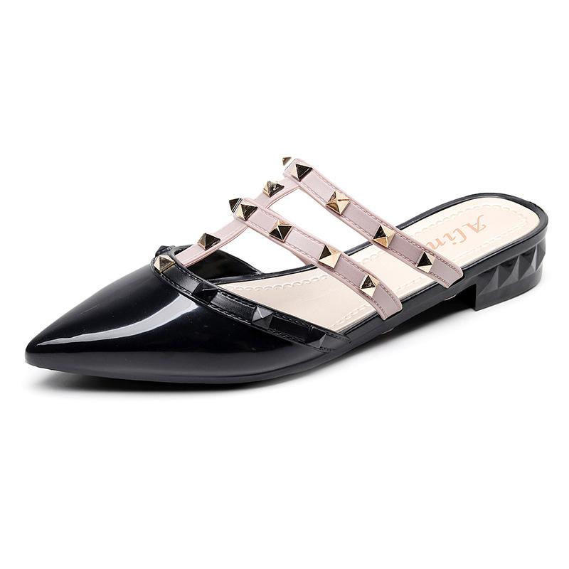 Korean Version of Non-Slip Pedal Slippers