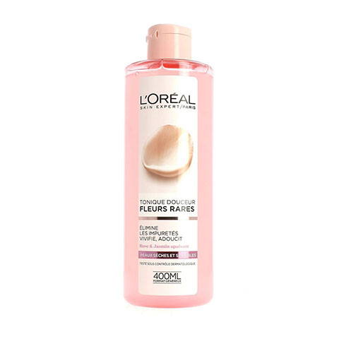 L'Oreal Rare Flowers Face Cleansing Lotion for Dry and Sensitive Skin 400ml