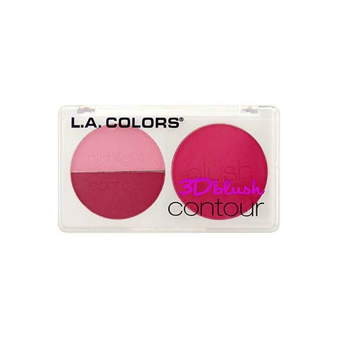 L.A. Colors 3D Blush Contour - CBL808 Love Me