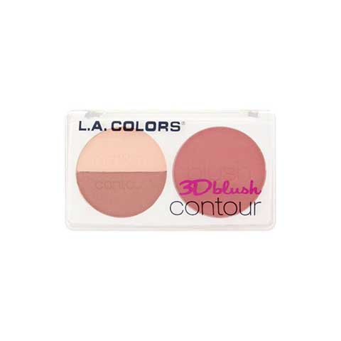 L.A. Colors 3D Blush Contour - CBL809 Hottie