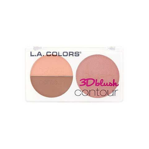 L.A. Colors 3D Blush Contour - CBL811 Spicy