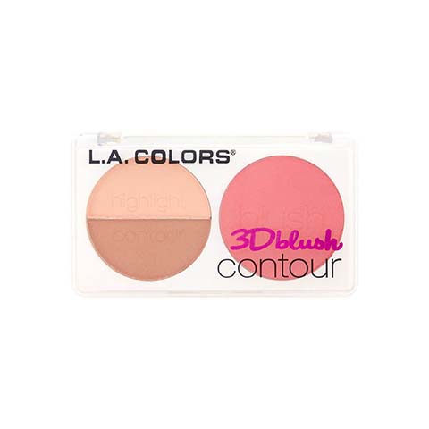 L.A. Colors 3D Blush Contour - CBL812 Want Me
