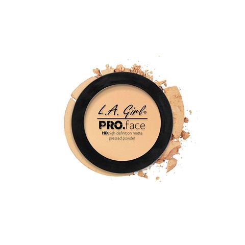 L.A. Girl Pro Face Matte Pressed Powder 7g - GPP604 Creamy Natural