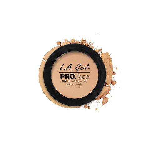 L.A. Girl Pro Face Matte Pressed Powder 7g - GPP605 Nude Beige