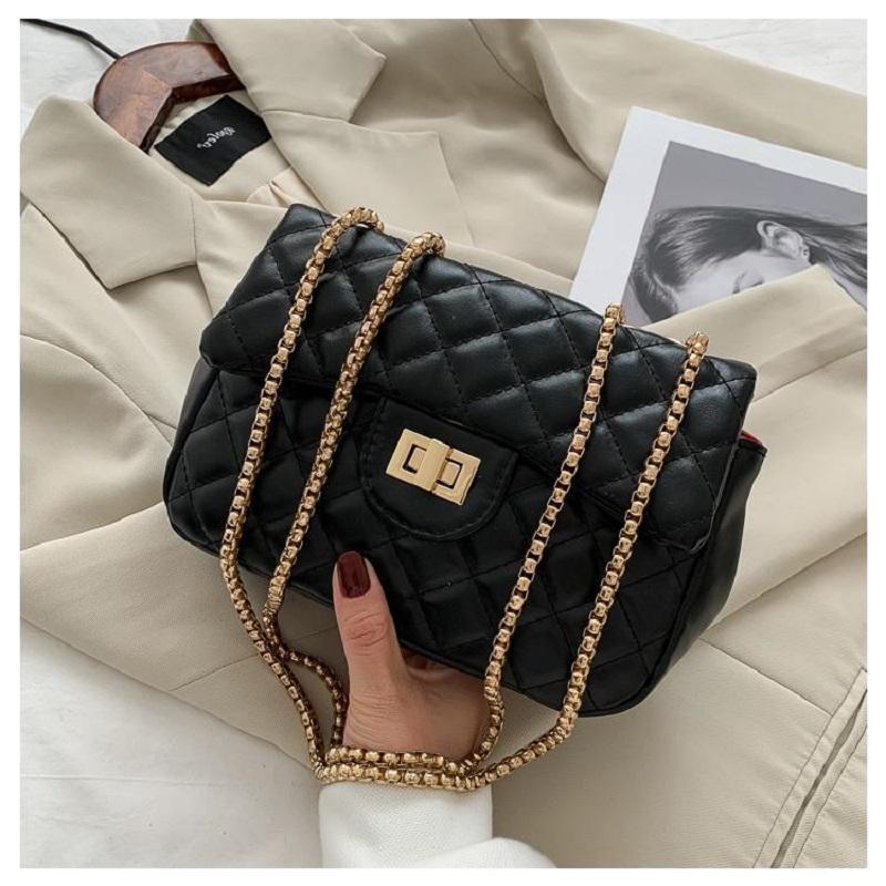 Ladies Classic Korean Style Shoulder Flap Bag (1001035)