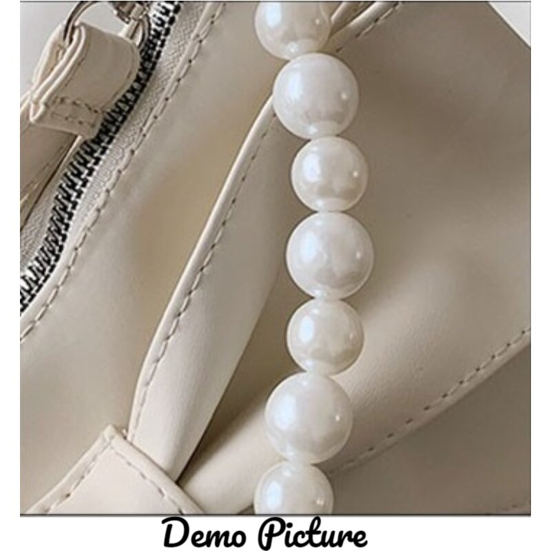 Ladies Fashionable Bow Knot Style Pearl Bag (1001005)