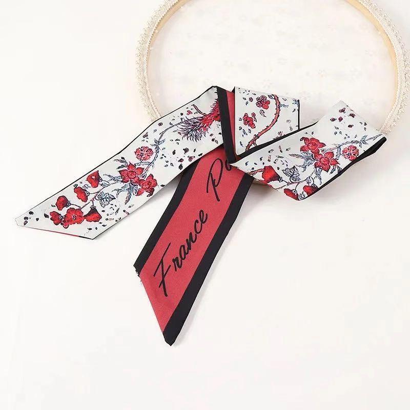 Ladies Silk Scarf Headband - 002