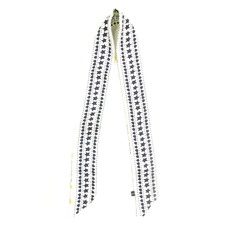 Ladies Silk Scarf Headband - 003
