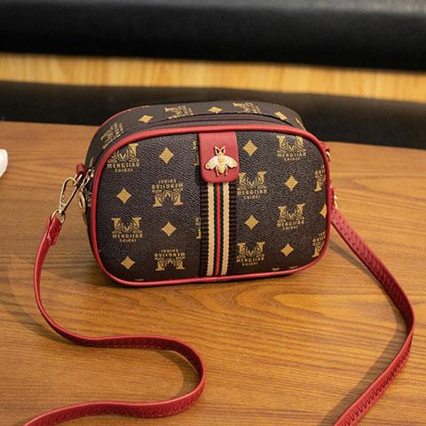 Ladies Simple Little Bee Chocolate Bag