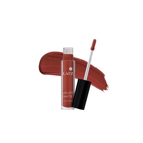 LAFZ Velvet Matte Lip Color - Brick Red