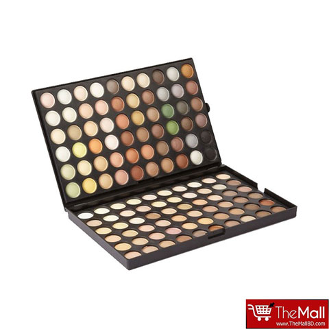 Laroc Beginners Collection 120 Natural EyeShadow Tones Palette