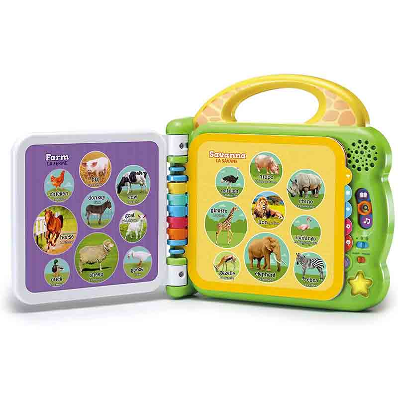 Leap Frog 100 Animals Electronic Book