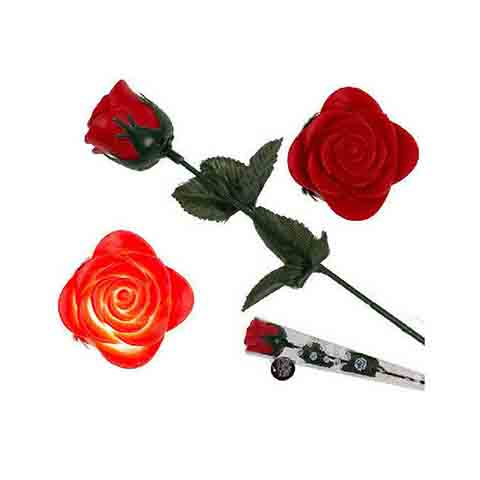 Light Up Single Red Rose For Valentines