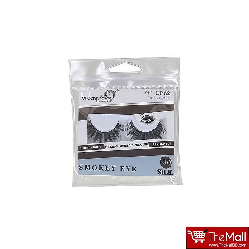 London Pride Smokey  Eye 3D Silk Lashes  LP62