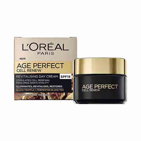 L'Oreal Age Perfect Cell Renew Revitalising Day Cream SPF15 - 50ml