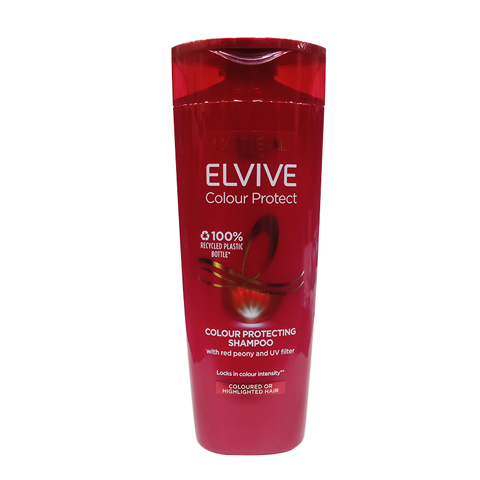 L'Oreal Elvive Colour Protect Caring Shampoo For Coloured Hair 400ml