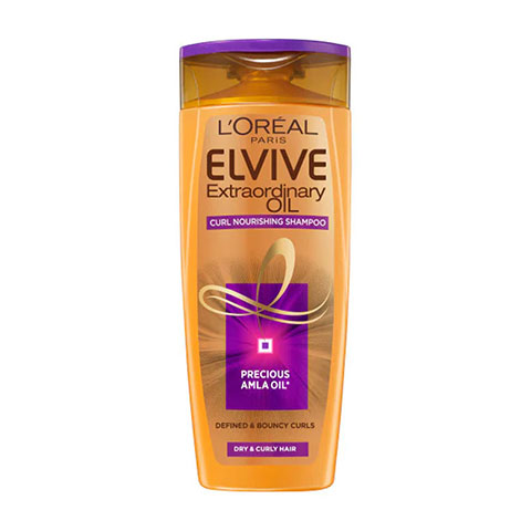 L'oreal Elvive Extraordinary Oil Curl Nourishment Shampoo For Very Dry, Curly, Afro Hair 400ml