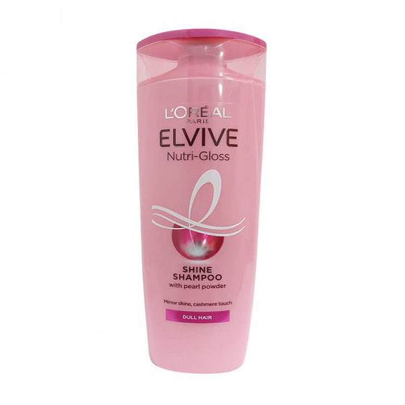 L'Oreal Elvive Nutri-Gloss Shine Shampoo 400ml