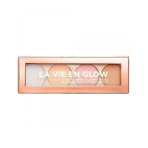 L'Oreal La Vie En Glow Highlighting Powder Palette - 02 Cool Glow