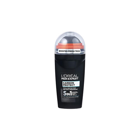 L'Oreal Men Expert Carbon Protect 5-in-1 Anti-Perspirant Roll-On Deodorant 50ml