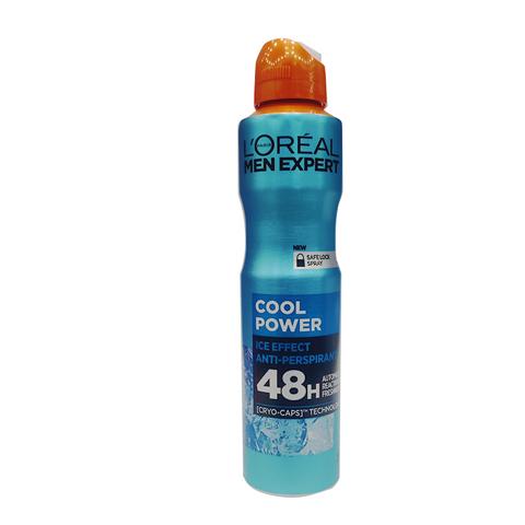 L'oreal Paris Men Expert Cool Power 48h Anti - Perspirant Deodorant 250ml