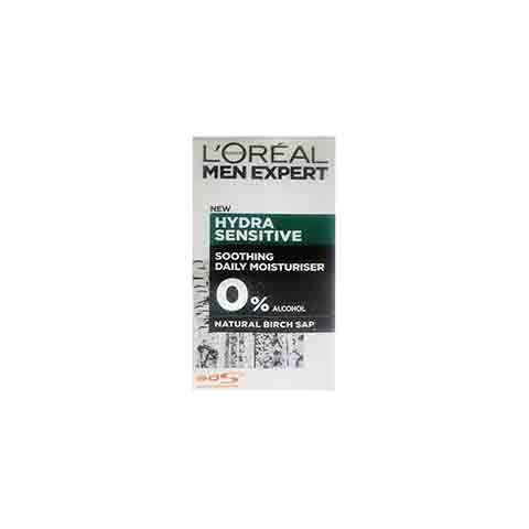 L'oreal Men Expert Hydra Sensitive Soothing Birch Sap Moisturiser For Sensitive Skin 50ml