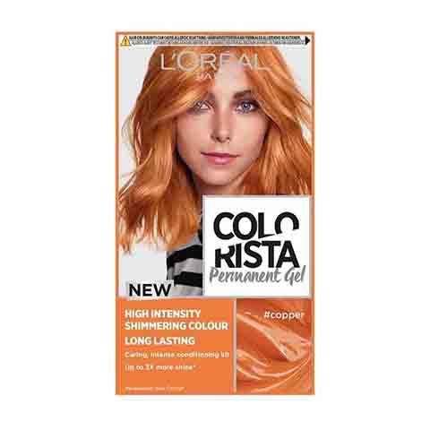 L'oreal New Colorista Permanent Gel Hair Colour - Copper
