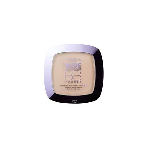 L'Oreal Nude Magique 5 In 1 BB Powder - Light Skin