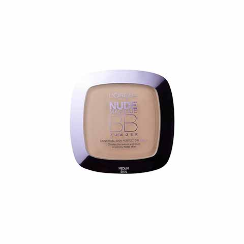 L'Oreal Nude Magique 5 In 1 BB Powder - Medium Skin
