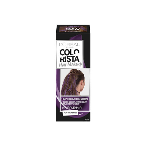 L'Oreal Paris Colorista Hair Makeup 30ml - Purple Hair