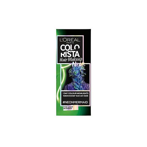 L'Oreal Paris Colorista Hair Makeup Neon 30ml - Neon Mermaid