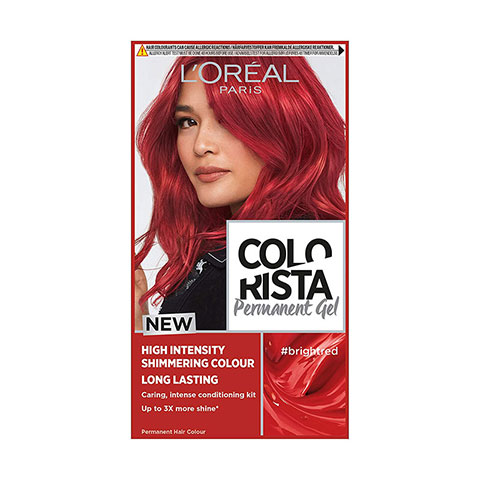 L'Oreal Paris Colorista Long Lasting Permanent Hair Colour - Bright Red
