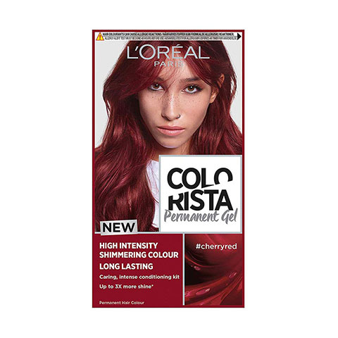 L'Oreal Paris Colorista Long Lasting Permanent Hair Colour - Cherry Red