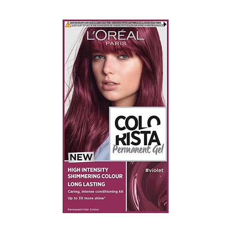 L'Oreal Paris Colorista Long Lasting Permanent Hair Colour - Violet