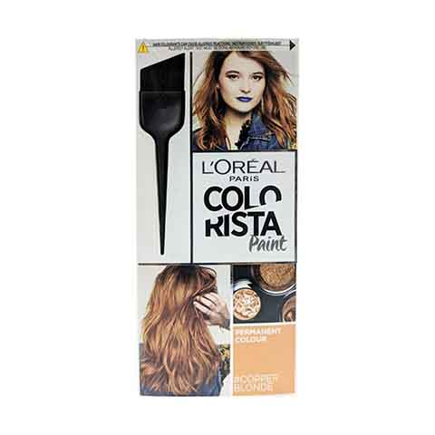 L'Oreal Paris Colorista Paint Copper Blonde Permanent Hair Colour 60ml - Copper Blonde