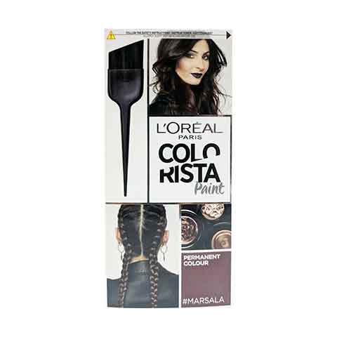 L'Oreal Paris Colorista Paint Marsala Permanent Hair Colour 60ml - Marsala
