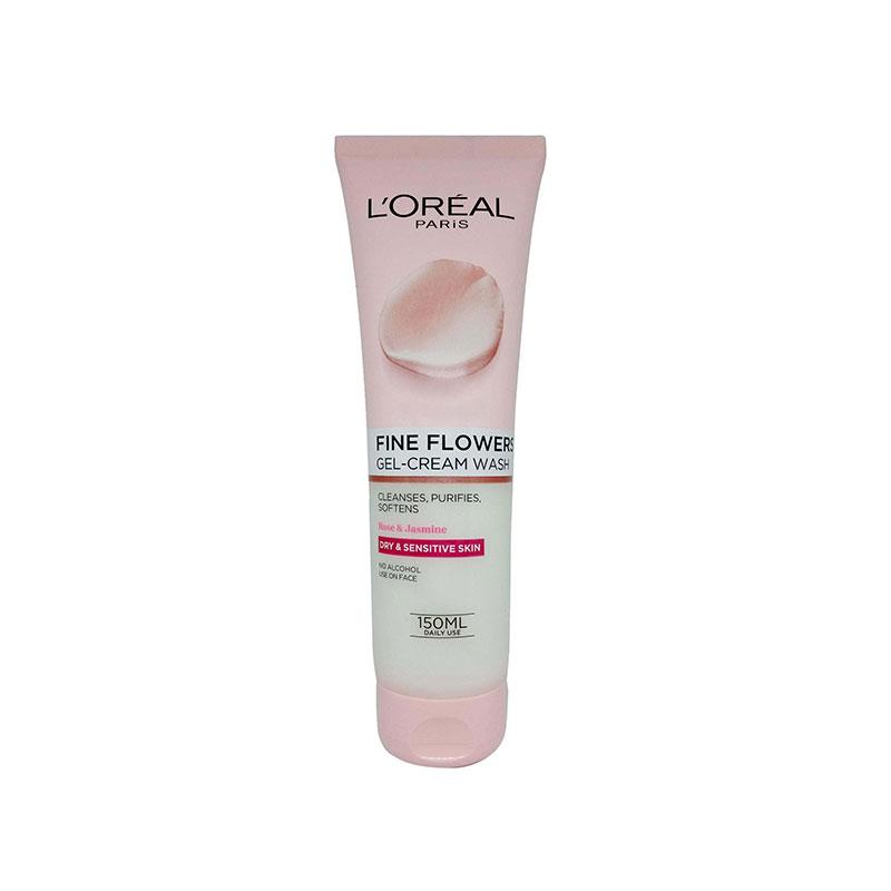 L'oreal Paris Fine Flowers Gel-Cream Wash With Rose & Jasmine 150ml