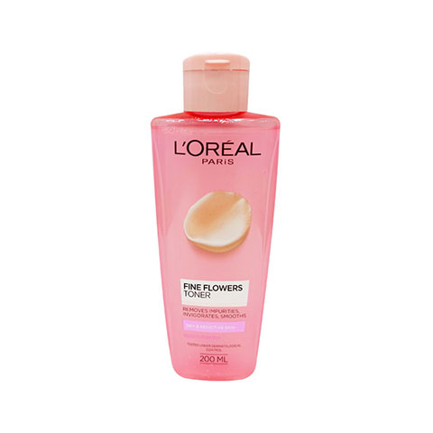 L'Oreal Paris Fine Flowers Toner Dry & Sensitive Skin 200ml