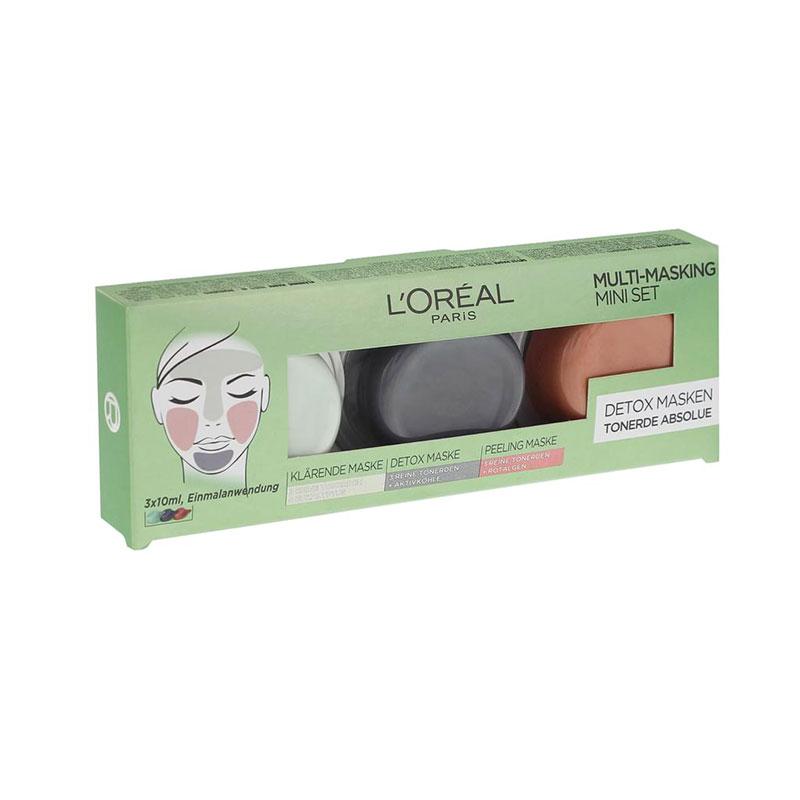 L'Oreal Paris Multi Masking Mini Set 3x10ml