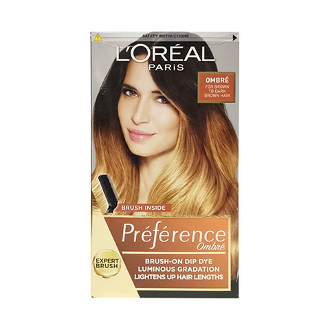 L'oreal Paris Preference Intense Ombre Hair Colour For Light To Dark Brown Hair - Ombre