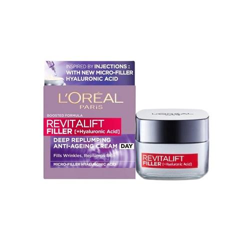 L'Oreal Paris Revitalift Filler Replumping Care Anti-Ageing Day Cream 50ml