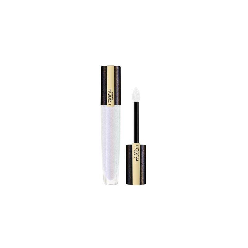 L'oreal Paris Shine Lipstick Rouge Signature Lip Topper 7ml - 210 White Gold (688)
