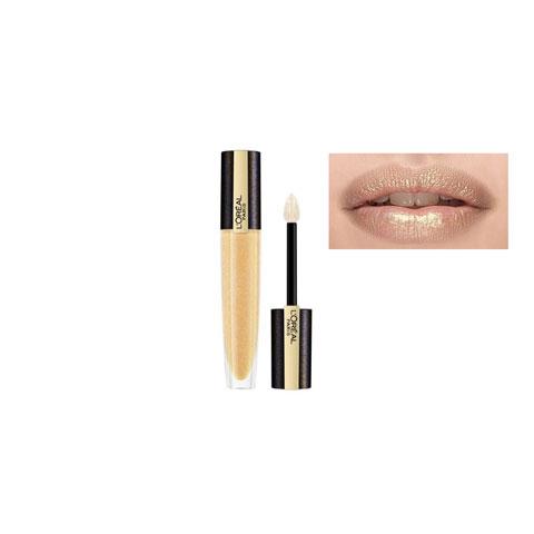 L'oreal Paris Shine Lipstick Rouge Signature Lip Topper 7ml - 212 Pure Gold (701)