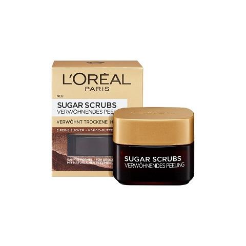 L'oreal Paris Sugar Scrubs Pampering Peeling For Dry Skin 50ml (1423)