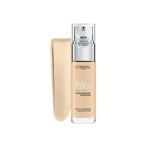 L'Oreal Paris Super Blendable True Match Foundation 30ml SPF17 - 1.D/1.W Golden Ivory