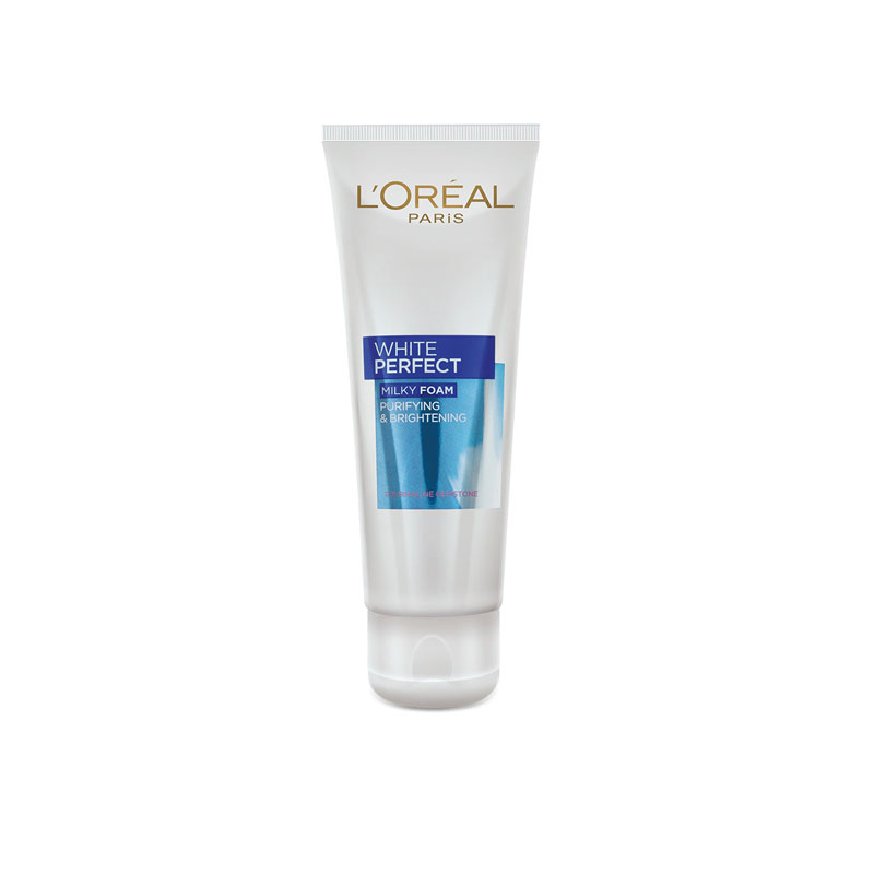 L'Oreal Paris White Perfect Purifying & Brightening Milky Foam Face Wash 100ml