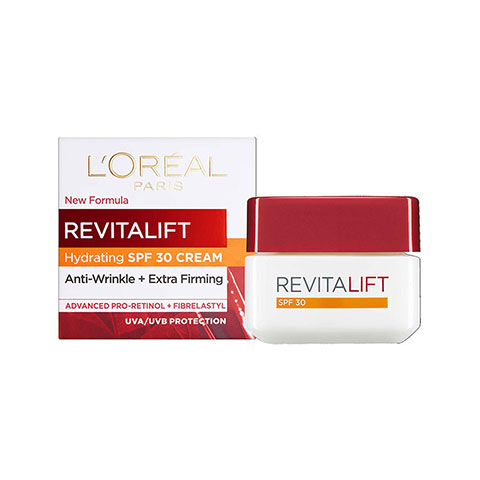 L'oreal Revitalift Anti Wrinkle + Extra Firming SPF 30 Day Cream 50ml - 40+ Age