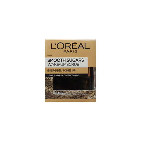 L'oreal Smooth Sugars Wake - Up Scrub 50ml